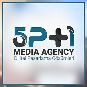 5p+1 media agecy logo tasarım ve kurumsal kimlik tasarımı