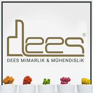 dees mimarlık ve mühendislik logo tasarım, kurumsal kimlik tasarımı
