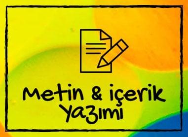 metin ve içerik yazımı banner
