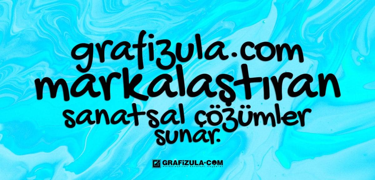 grafizula.com markalaştıran sanatsal çözümler sunar