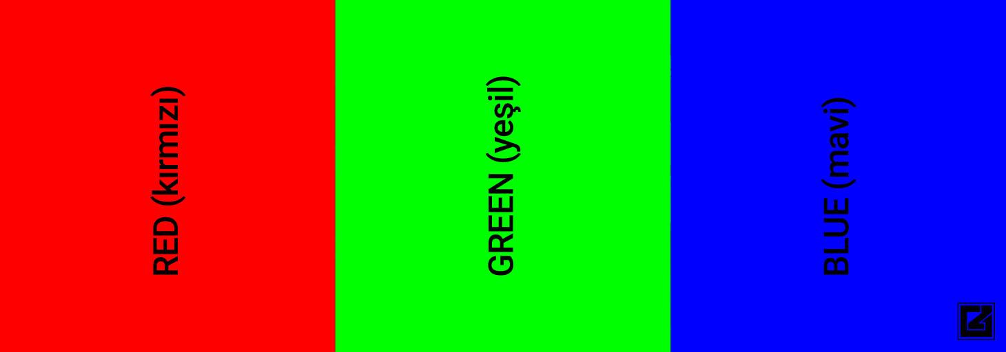 rgb nedir, rgb renk oluşumu, nerelerde kullanılır, renk uzayı
