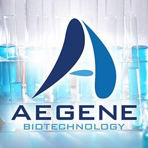aegene biyoteknoloji logo tasarım