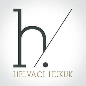 helvacı hukuk logo tasarım görseli