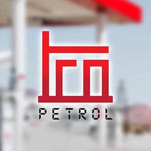 trn petrol logo tasarim