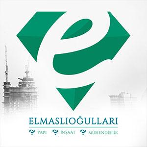 elmaslıoğulları inşaat logo tasarım ve kurumsal kimlik tasarımı
