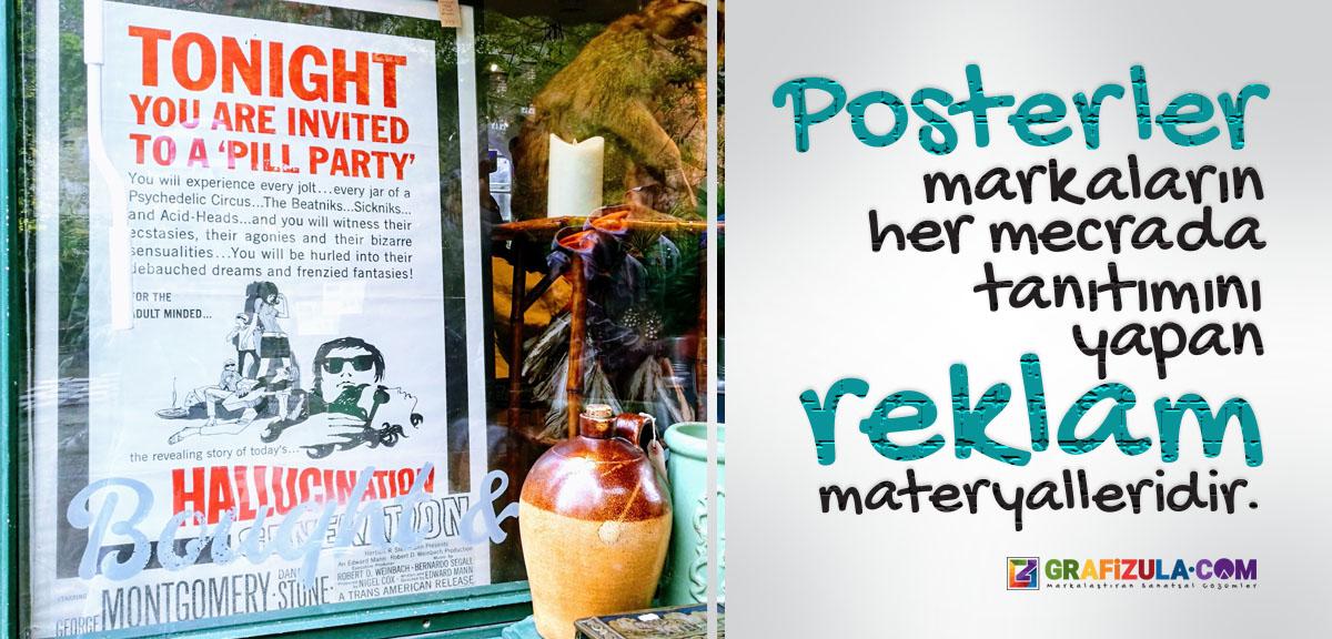 poster tasarımı, afiş tasarımı