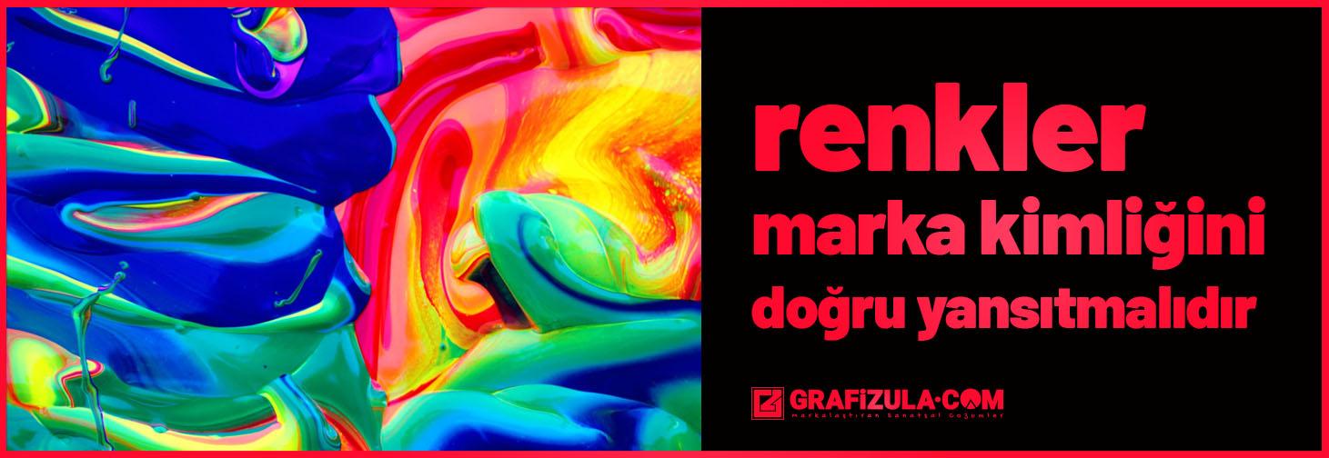 Zevkler ve renkler tartışılmaz sözü, grafik tasarım ve marka iletişimi için geçerli değildir. Zevkler ve renkler tartışılır.